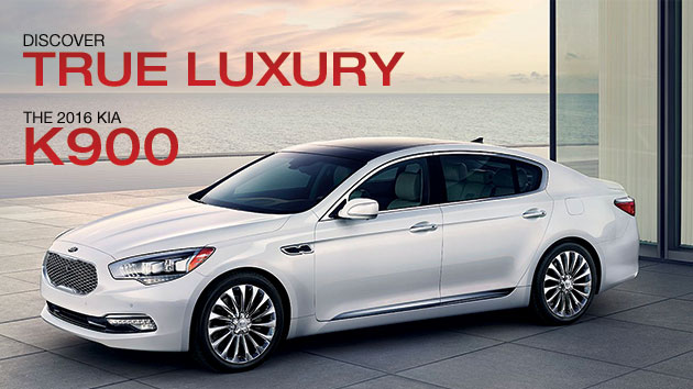 Discover True Luxury  The 2016 Kia K900