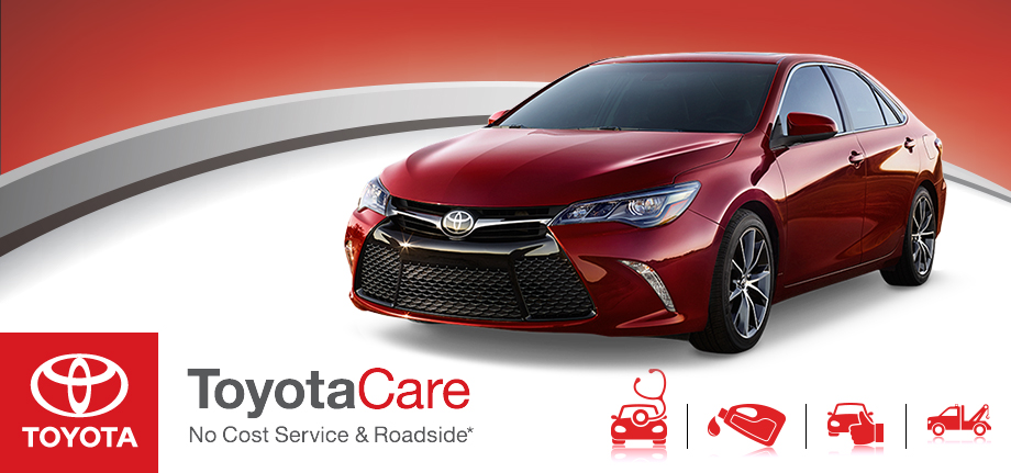 Sun Toyota Toyota Care, No Cost Service and Roadside