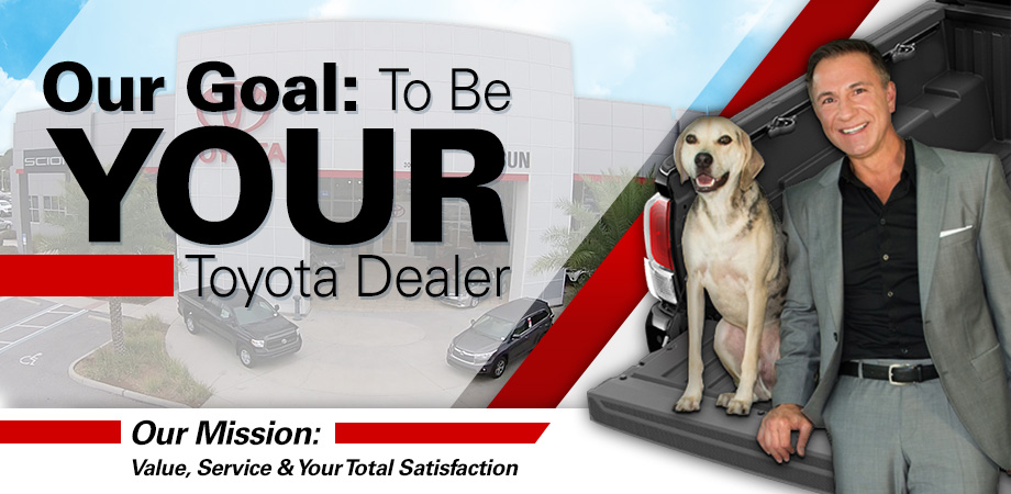 Superior John Marazzi And Zeus Welcome You To The New Sun Toyota!