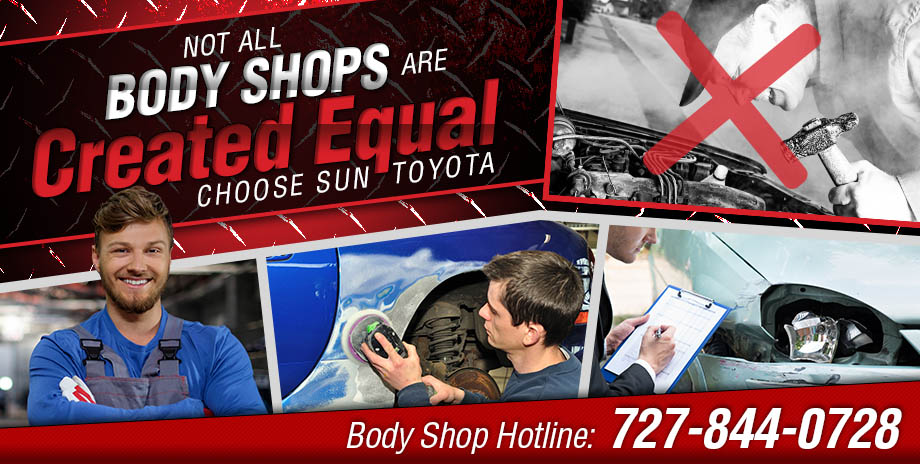 Not All Body Shops Are Created Equal | Choose Sun Toyota