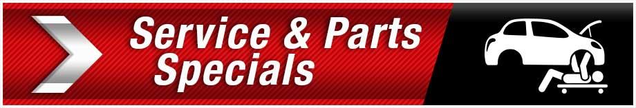 Service & Parts Specials