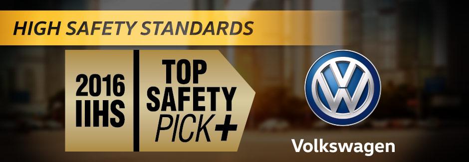 IIHS Safety Pick - Volkswagen Jetta, Passat - Southern Volkswagen Greenbrier