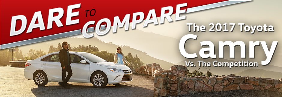 Town And Country Toyota >> Dare To Compare Camry Town And Country Toyota