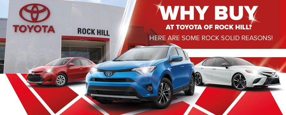 Toyota of Rock Hill's Rock Solid Guarantee