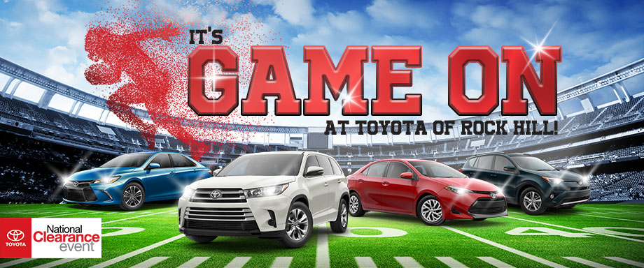 It's Game On At Toyota of Rock Hill!