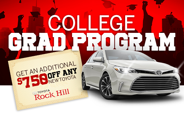 College Grad Program | Get An Additional $750 Off A New Toyota