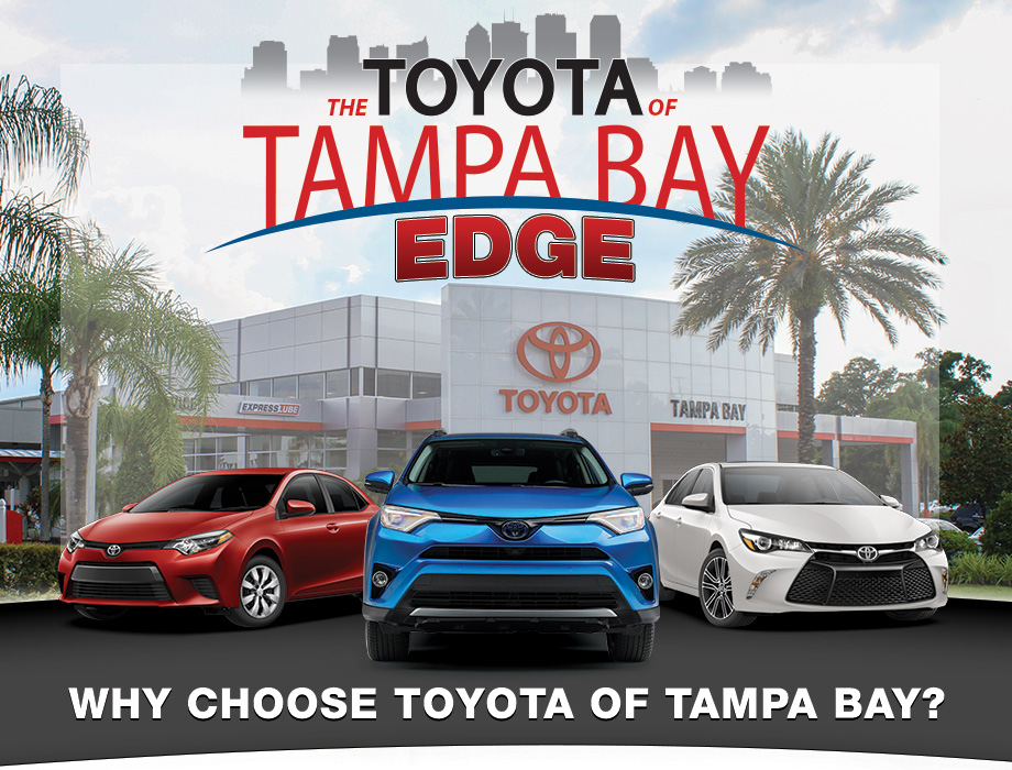 Toyota of Tampa Bay Edge at Toyota of Tampa Bay