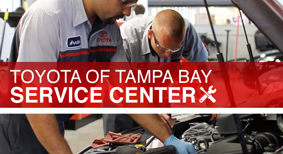 Tampa Toyota Service Center Near Brandon and Wesley Chapel
