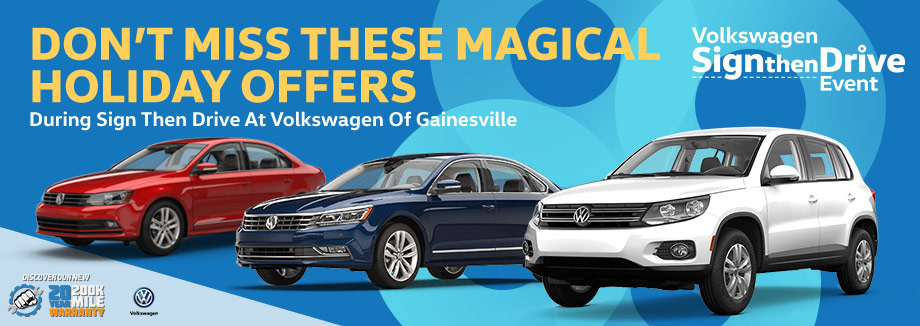 magical offers at volkswagen of gainesville | gainesville fl