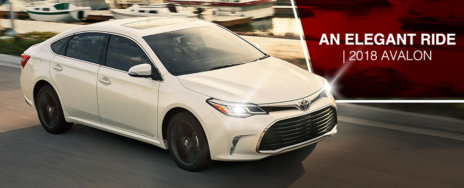 The 2018 Avalon is available at World Toyota in Atlanta, GA