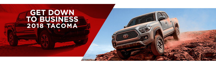 The 2018 Toyota Tacoma Is Available At World Toyota in Atlanta, GA