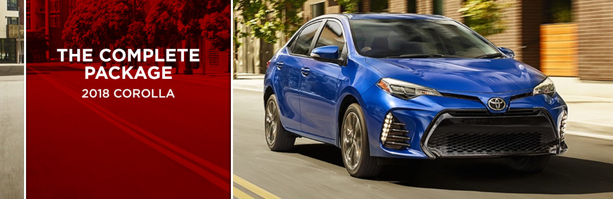 The 2018 Toyota Corolla is available at World Toyota in Atlanta, GA