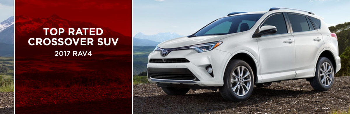 The 2017 RAV4 is available at World Toyota in Atlanta