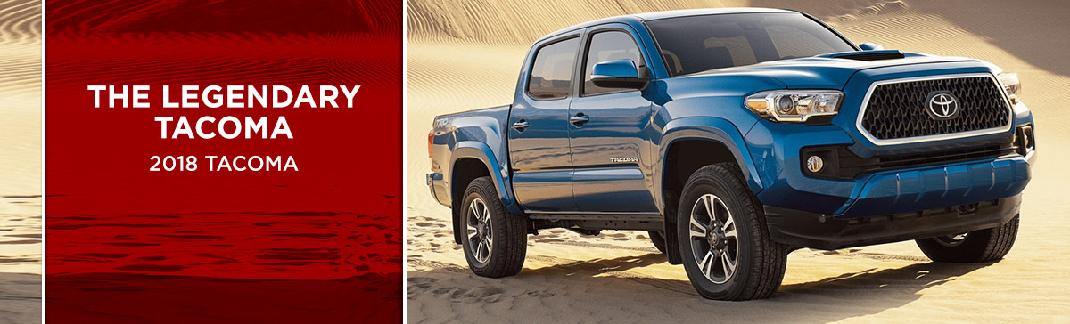 The 2018 Tacoma is available at World Toyota near Sandy Springs, GA