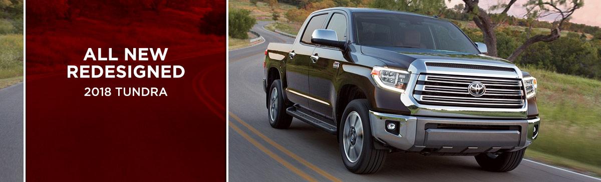 The 2018 Tundra is available at World Toyota near Alpharetta, GA