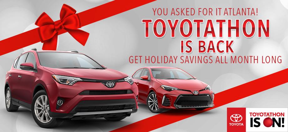 Toyotathon is Back!