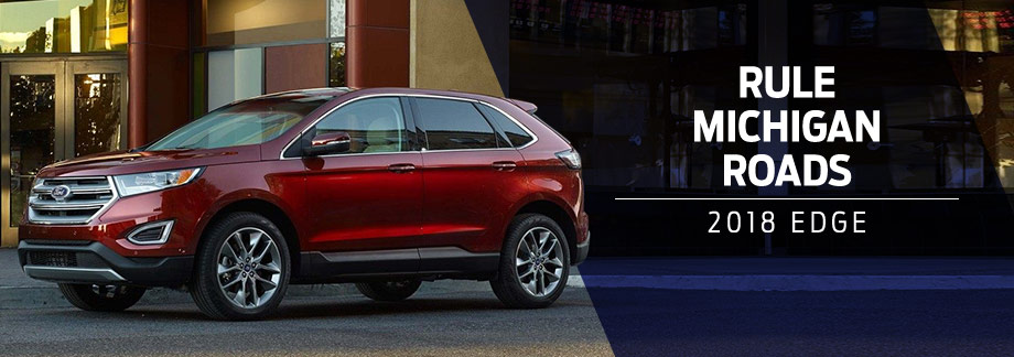 The 2018 Ford Edge is available at Zeigler Plainwell Ford near Kalamazoo