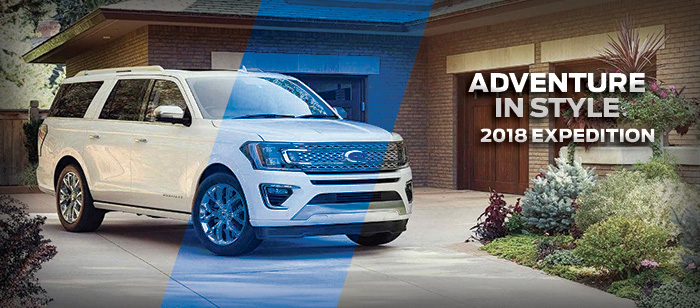 The 2018 Expedition is available at Brighton Ford near Denver