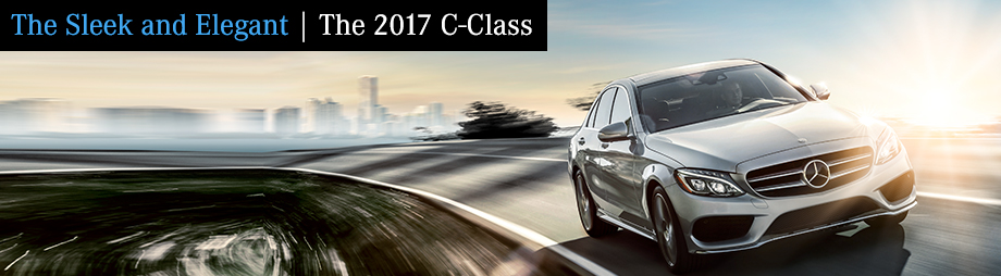 Exterior of the 2017 C-Class at Crown Eurocars in St. Petersburg near Tampa