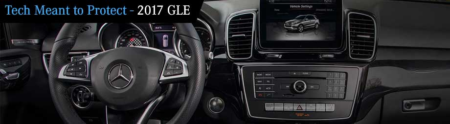 Interior and safety features of the 2017 GLE available at Crown Eurocars in St. Petersburg near Clearwater