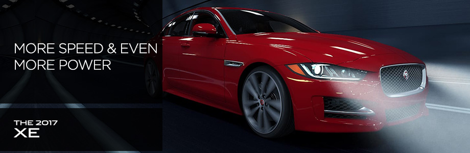 Exterior of the 2017 XE at Crown Jaguar near Palm Harbor