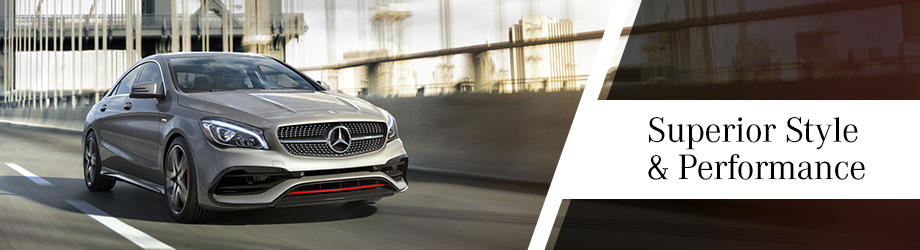 Exterior of the new CLA 250 in Dublin