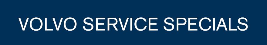 Volvo Service Specials