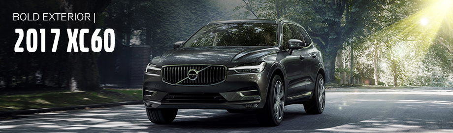 Exterior of the 2017 XC60 at Crown Volvo Cars near St. Petersburg