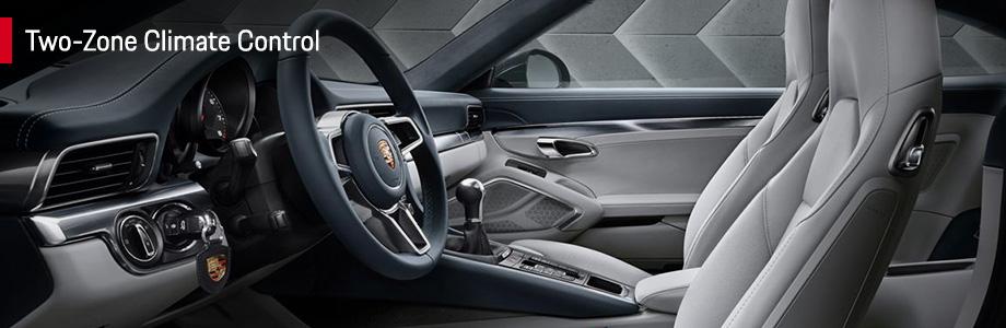 Interior Features 2017 911 Carrera at Capital Porsche near Lake City and Panama City