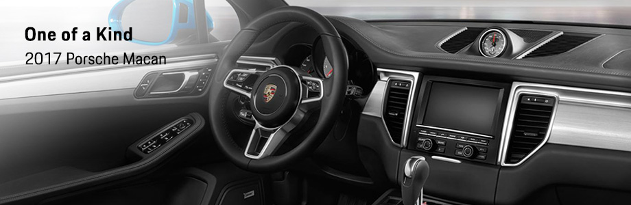 Safety features and interior of the 2017 Macan - available at Capital Porsche near Panama City and Lake City