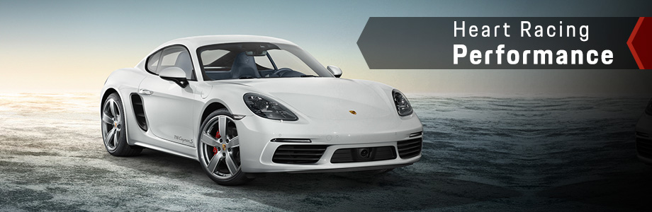 Exterior of the Cayman at Capital Porsche near Panama City