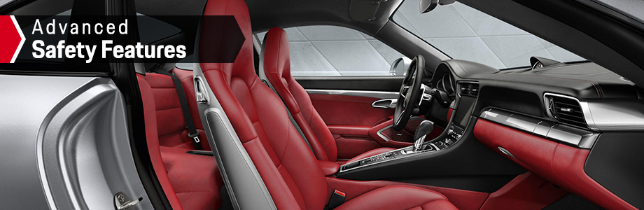 Safety features and interior of the 2018 911 Carrera - available at Capital Porsche  near Panama City and Lake City