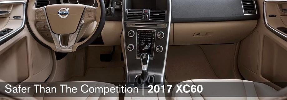 Interior of the 2017 XC60 at Capital Volvo Cars near Marianna