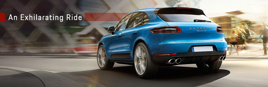 Exterior of the 2017 Macan at Capital Porsche near Panama City