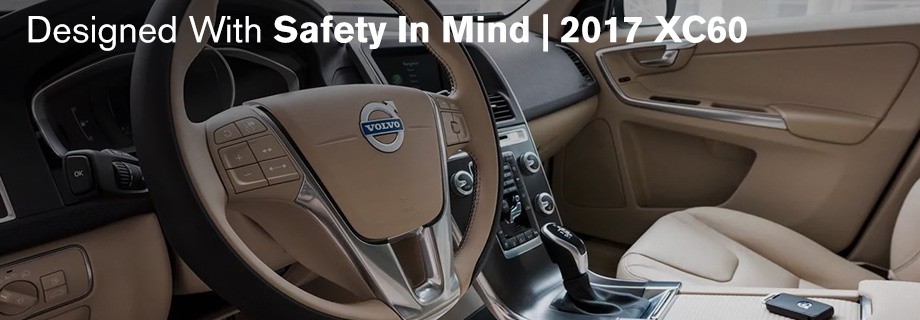 Safety features and interior of the 2017 XC60 - available at Capital Volvo Cars near Tallahassee and Panama City