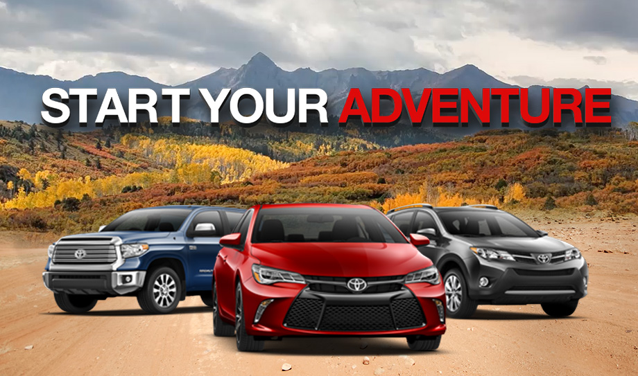 Start Your Adventure With Toyota Deals
