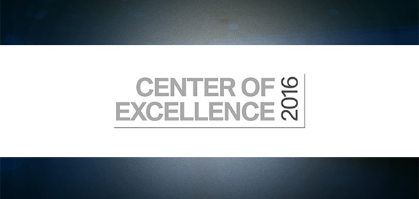 The 2016 BMW Center Of Excellence Award