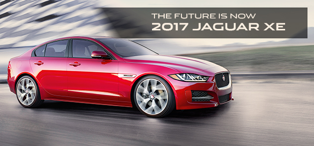 New 2017 Jaguar XE Compact Luxury Sport Sedan