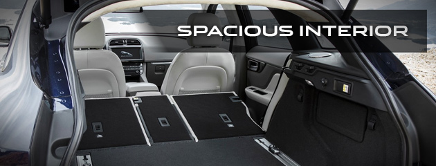 Spacious Cargo Capacity Trunk Space - 2017 Jaguar F-PACE