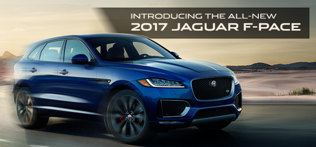 New 2017 Jaguar F PACE Luxury SUV Crossover At Jaguar El Paso in Texas