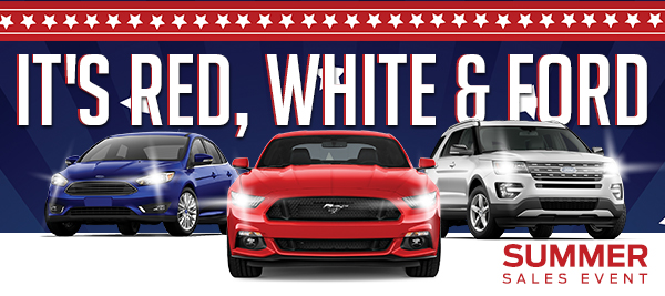 It's Red White & Ford!