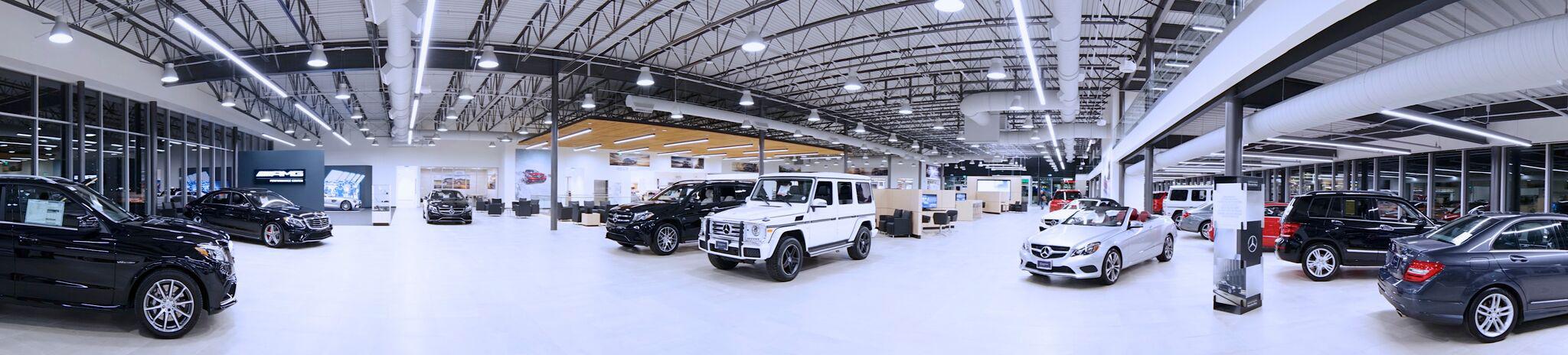 Mercedes-Benz of Denver Showroom