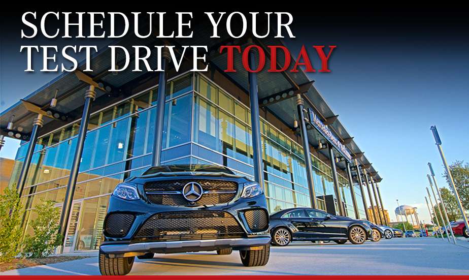 Schedule Your Test Drive Today