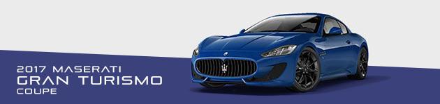 2017 Maserati Gran Turismo Coupe