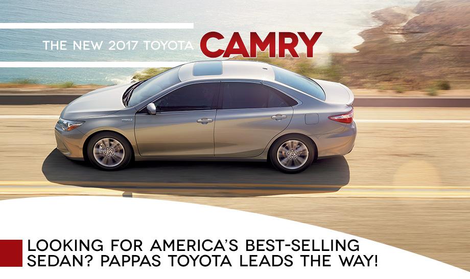 New 2017 Toyota Camry Mid Size Sedan Award Feature Safety Technology St Peters St Louis Ballwin O'Fallon St Charles Missouri MO