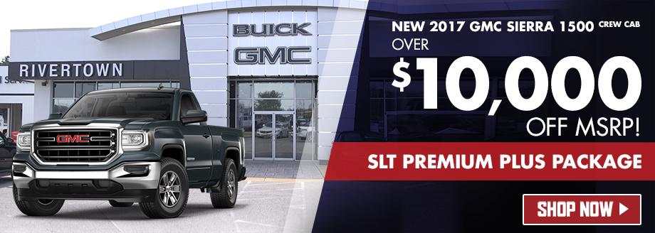 New 2017 GMC Sierra 1500