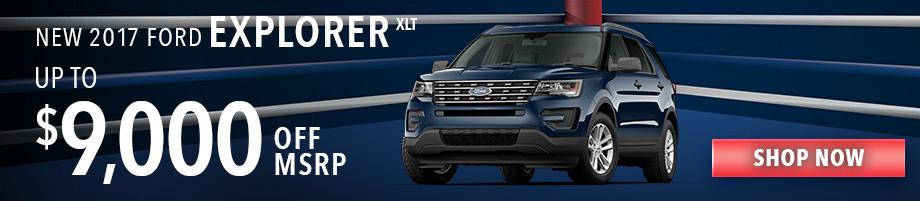 New 2017 Ford Explorer