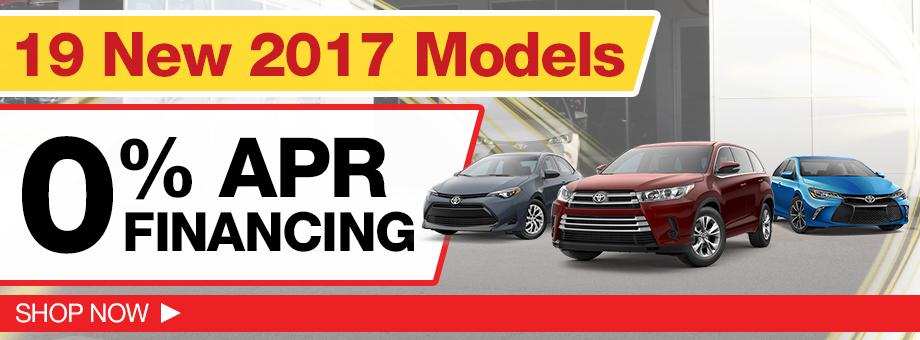 13 New 2017 Models