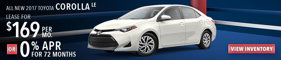 New 2017 Toyota Corolla