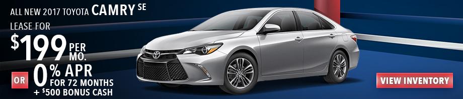 New 2017 Toyota Camry